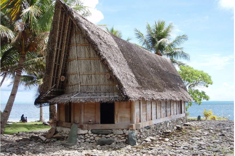 3 days on the island of Yap, Micronesia