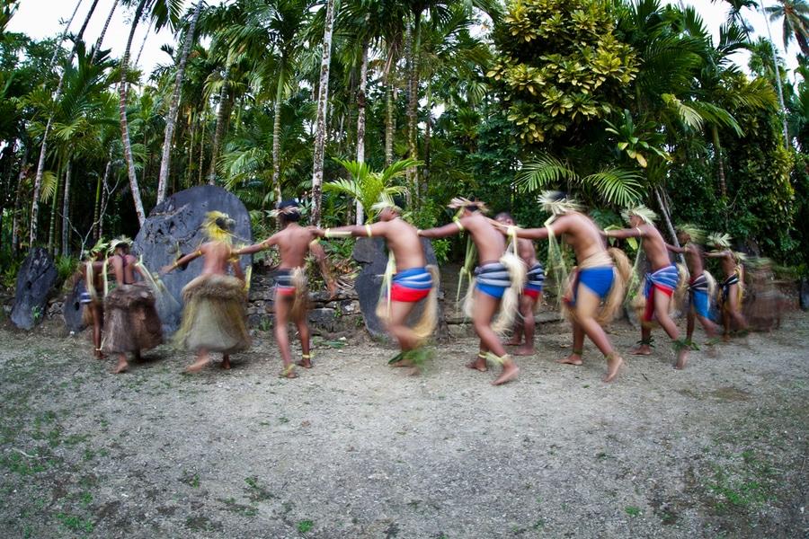 Cultural Village, Yap Island, Micronesia