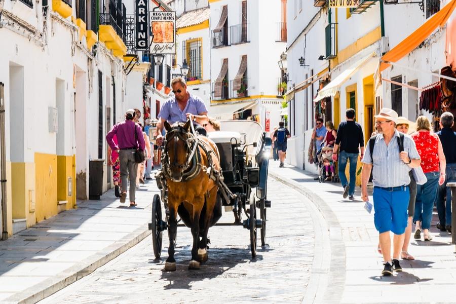 Historic center, Cordoba, Spain