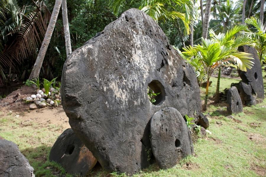 Stone money, Yap Island, Micronesia