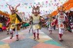 Dancers at Oruro Carnival, Bolivia