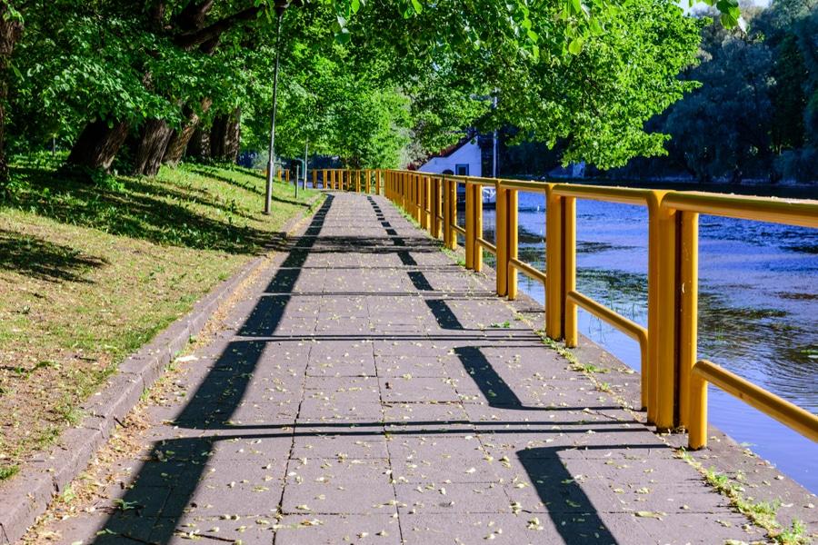 Emajogi River, Tartu, Estonia