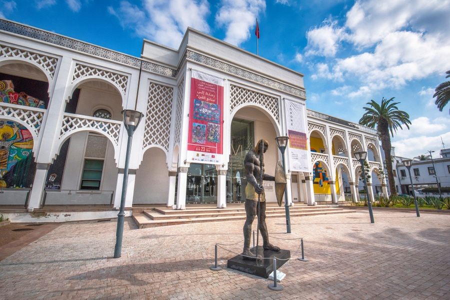 Museum Mohamed VI of Modern and Contemporary Art, Rabat, Morocco