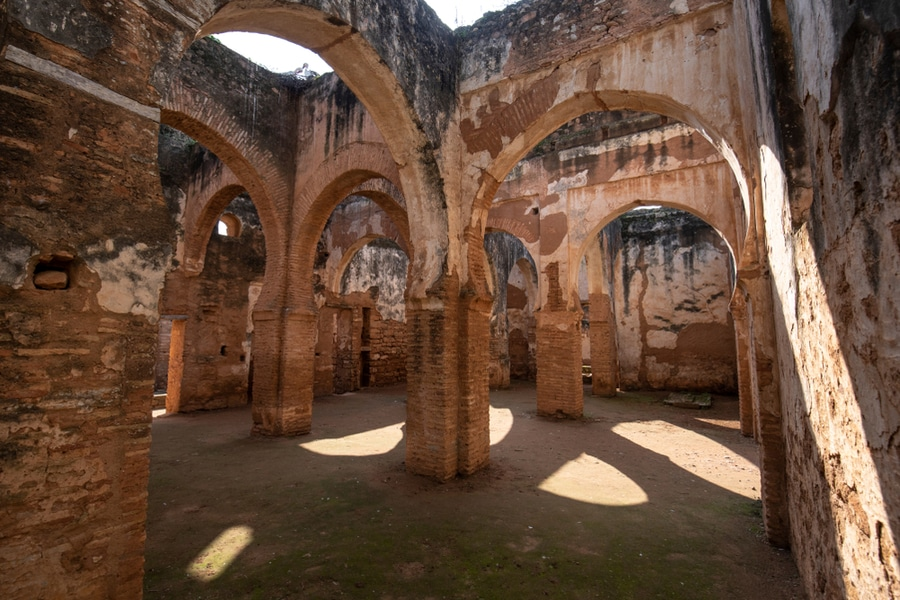Ruins Chellah, Rabat, Morocco
