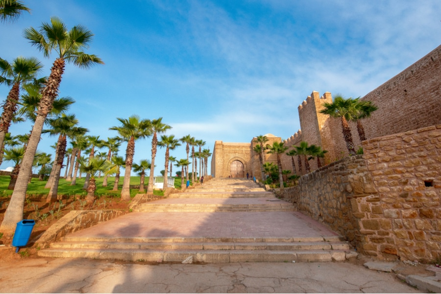 The Kasbah of the Udayas, Rabat, Morocco