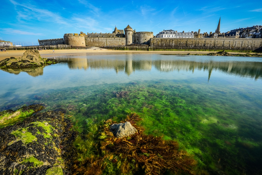 Walled City, Saint-Malo, France