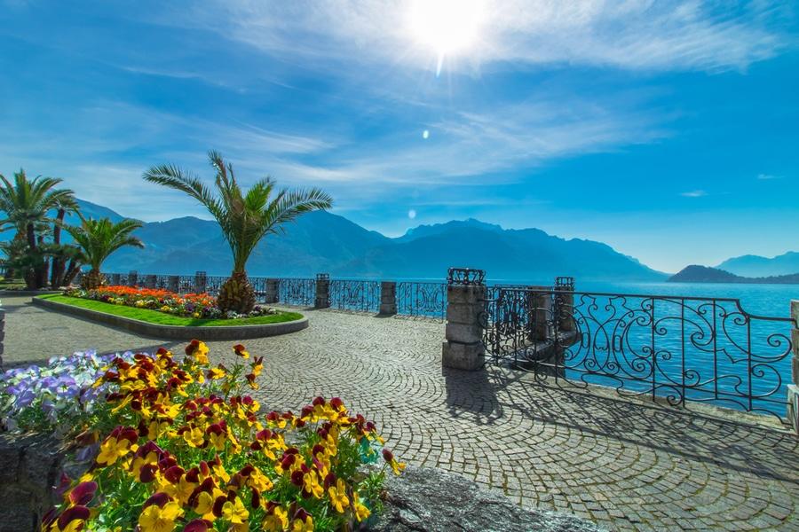 Lakeside promenade, Menaggio, Italy