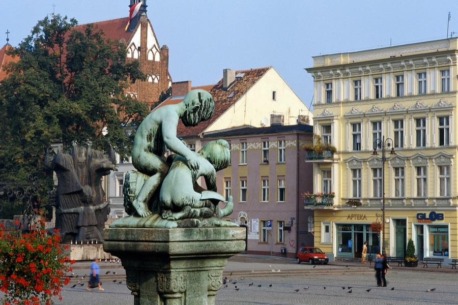Market Square, Bydgoszcz, Poland