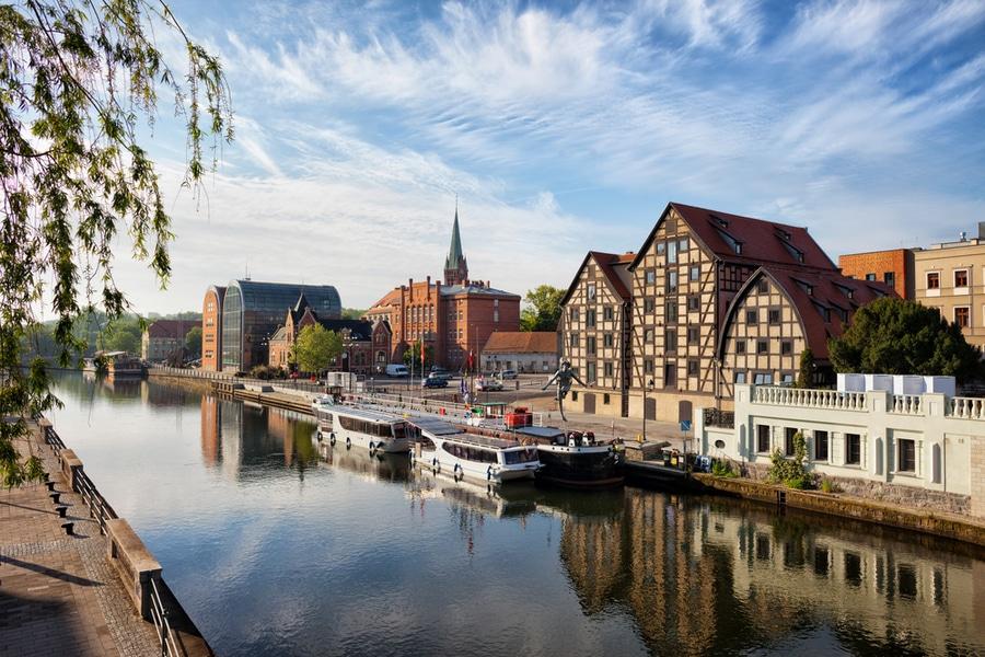 Old Granaries, Bydgoszcz, Poland