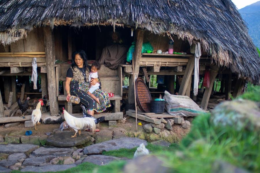 Locals, Wae Rebo Village, Indonesia